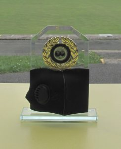 Lockdown singles competition trophy
